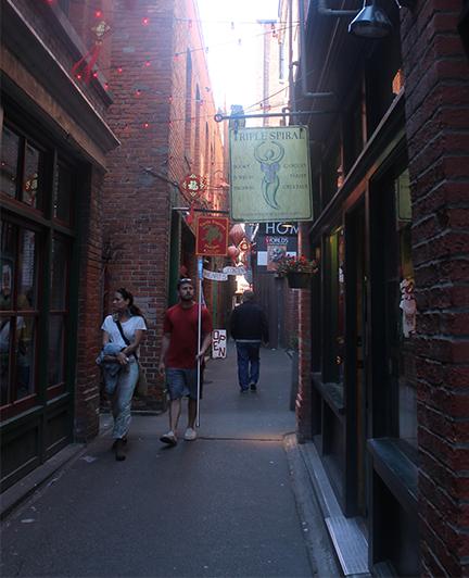Fan tan alley walkway