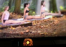 yoga candle